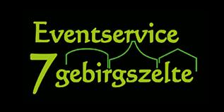 Eventservice 7 Gebirgszelte